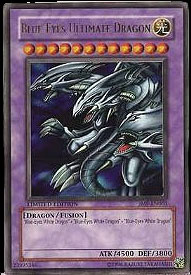 Yu-Gi-Oh Blue Eyes Ultimate Dragon