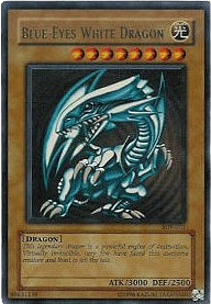 Yu-Gi-Oh Blue Eyes White Dragon