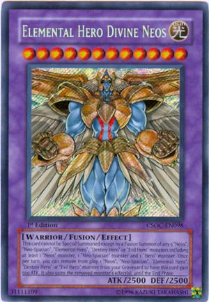 Elemental Hero Divine Neos! yugioh-elemental-hero-divine-neos