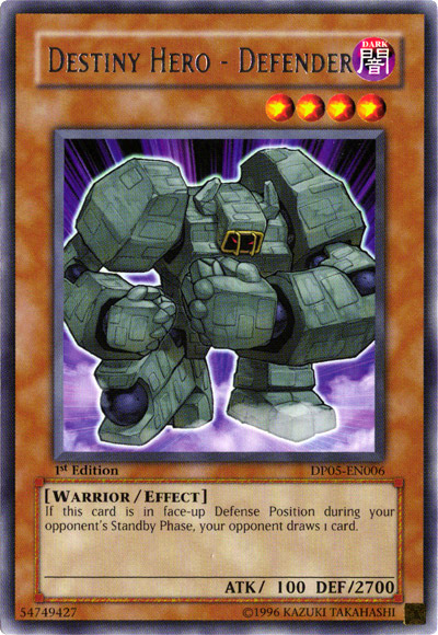 Yugioh Destiny Hero - Defender
