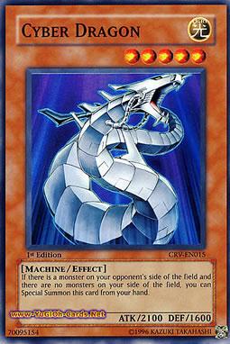 Strong Monster Yugioh Cyber Dragon