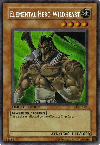 Yugioh Elemental Hero Wildheart
