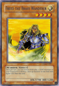 Yugioh Freed the Brave Wanderer