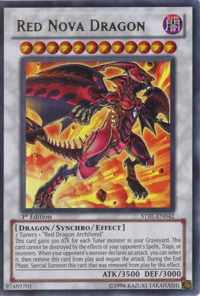Yugioh red nova dragon