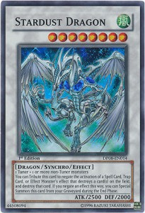 Yugioh Stardust Dragon