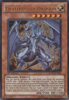 Yugioh Lightpulse Dragon