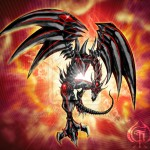 Yugioh Red Eyes Darkness Metal Dragon