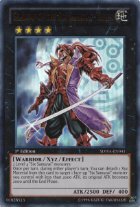 Yugioh Shadow of the Six Samurai Shien