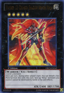 Number 12: Crimson Shadow Armer Ninja