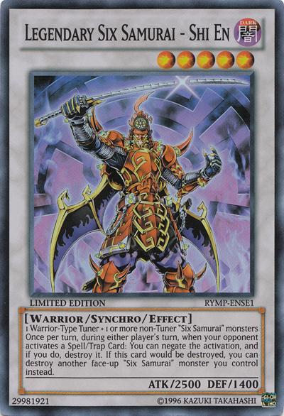 Yugioh Legendary Six Samurai Shi En