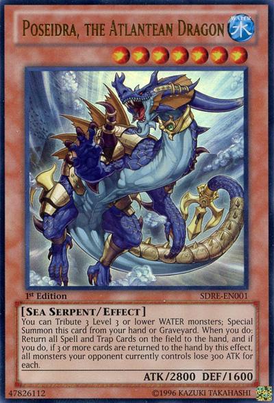 Poseidra, the Atlantean Dragon