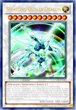 Yugioh Shooting Quasar Dragon