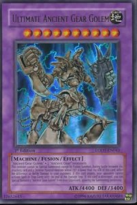 Yugioh Ultimate Gear Golem